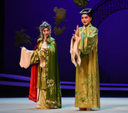 """A happily married couple-Kunqu Opera """"the West Chamber"""" Stock Photo"""