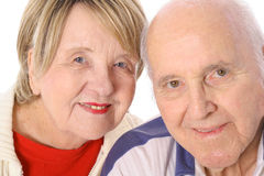 Happily married seniors Stock Photography