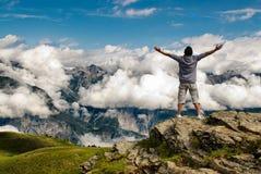 Happines & liberdade Imagem de Stock Royalty Free
