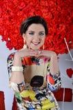 Happines dans le jour de valentines Image stock