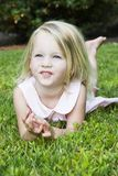 Happiness. Happy little girl Stock Photography