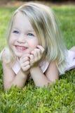 Happiness. Happy little girl Stock Photos