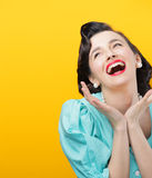 Happiness Lizenzfreies Stockfoto