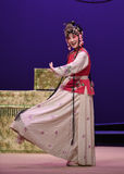 "Happiness appears on the eyebrows-Kunqu Opera ""the West Chamber"" Stock Image"