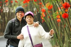 Happiness Asian Family Royalty Free Stock Photography