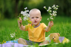 Happiness Baby boy Royalty Free Stock Photography