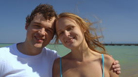 Happiness is being together stock footage