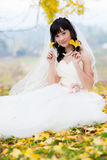 Happiness bride Royalty Free Stock Photo