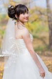 Happiness bride Stock Images