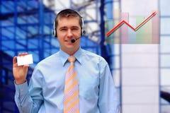 Happiness businessman Stock Image