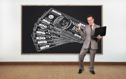 Happiness businessman Stock Photography