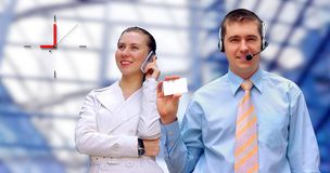Happiness businessmens Royalty Free Stock Image