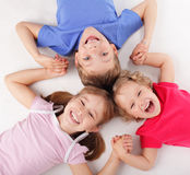 Happiness children Royalty Free Stock Images
