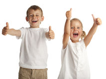 Happiness children Stock Image