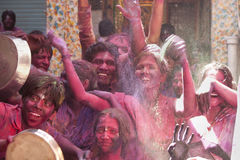 Happiness of Colors - The shot is taken in India Royalty Free Stock Images
