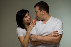 Happiness couple Royalty Free Stock Photos