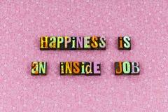 Happiness decision freedom attitude joy letterpress. Happiness decision freedom attitude joy typography letterpress enjoyment enjoy relationship love romance stock photography