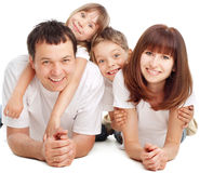 Happiness family royalty free stock image