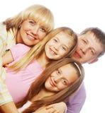 Happiness family Stock Photos