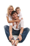 Happiness family Royalty Free Stock Photos