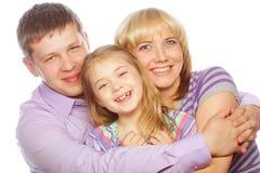 Happiness family Royalty Free Stock Photos