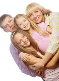 Happiness family Stock Photo