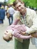 Happiness fatherhood Royalty Free Stock Image