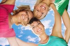 Happiness friends Royalty Free Stock Image