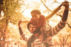 Happiness and fun. royalty free stock photography
