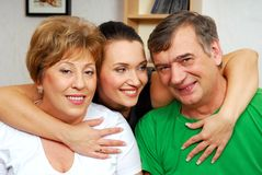 Happiness  generation Stock Photography