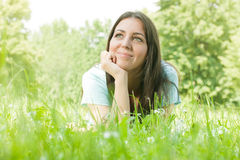 Happiness girl stock images
