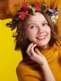 Happiness girl Stock Photos