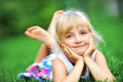 Happiness  girl Royalty Free Stock Photography