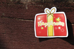 Happiness greeting card Royalty Free Stock Photo
