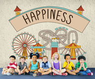 Happiness Happy Emotion Enjoy Fun Relaxation Concept Stock Photography
