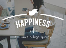 Happiness Happy Pleasure Fun Cheerful Concept Royalty Free Stock Photo