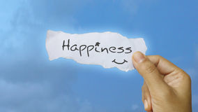 Happiness. I have created happiness concept in raster format Stock Image