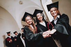 Happiness. Intelligence. Diploma. University stock photo