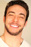 Happiness and joy concept / Smiling boy Stock Photography