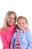 Happiness mother and daughter Royalty Free Stock Photos