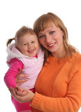 Happiness mother and daughter Royalty Free Stock Photo