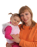 Happiness mother and daughter Stock Photography