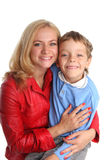Happiness mother and son Royalty Free Stock Images