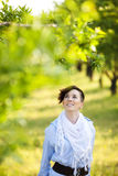 Happiness in nature Royalty Free Stock Photography