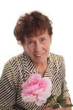 Happiness old woman Royalty Free Stock Photos