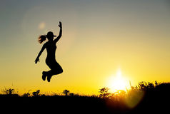 Happiness - positive emotions Royalty Free Stock Photography