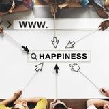 Happiness Positivity Mindset Thinking Wellness Concept Stock Photos