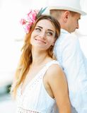 Happiness and romantic couple Royalty Free Stock Images