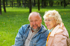 Happiness seniors Royalty Free Stock Photos