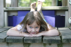 Happiness is Simply Resting Royalty Free Stock Photos